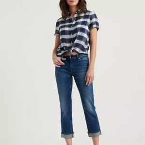 Last chance! Lucky Jeans Sweet NWT Crop 32 sz 14